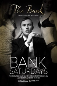 EarwaxXx Saturdays @ The Bank Nightclub Inside Bellagio Las Vegas