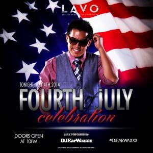 DJ EarwaxXx @ LAVO Las Vegas July 4