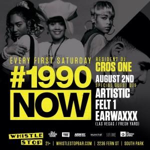 DJ EarwaxXx at Whistle Stop San Diego